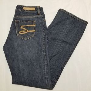 For All Mankind 7 Flare Jeans